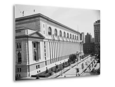 New York Public Library, C.1910--Metal Print