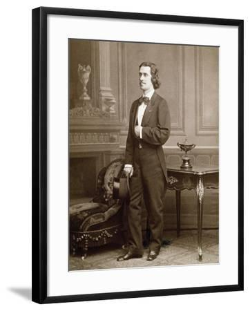 Photographic Portrait of Josef Strauss--Framed Giclee Print