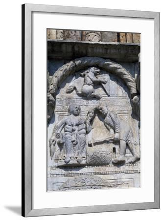 Bas-Relief of Maestro Nicolo--Framed Giclee Print