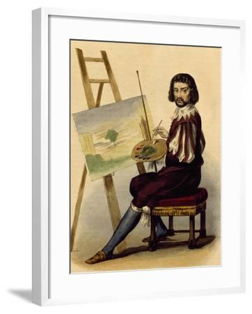 Portrait of Painter, Claude Lorrain--Framed Giclee Print
