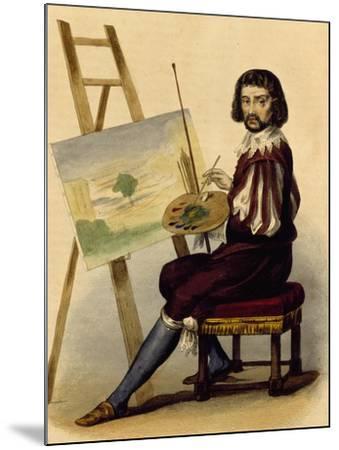 Portrait of Painter, Claude Lorrain--Mounted Giclee Print