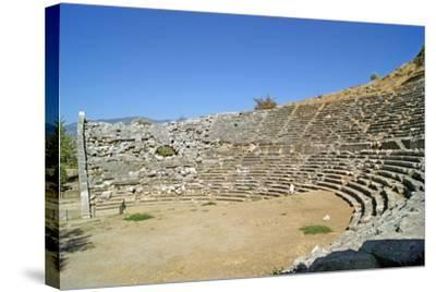 Amphitheatre, Letoon, Turkey--Stretched Canvas Print