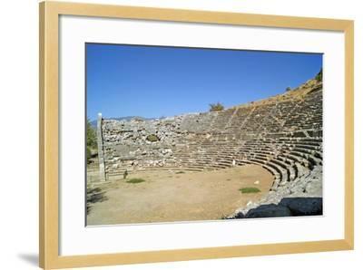 Amphitheatre, Letoon, Turkey--Framed Photographic Print