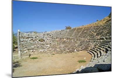 Amphitheatre, Letoon, Turkey--Mounted Photographic Print