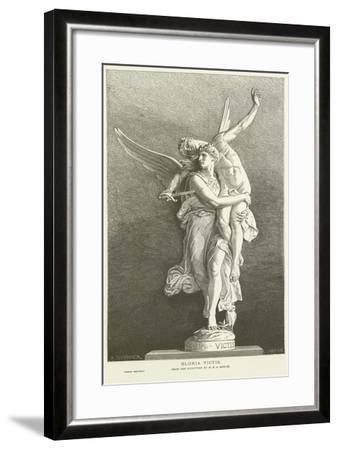 Gloria Victis-Marius Jean Antonin Mercie-Framed Giclee Print