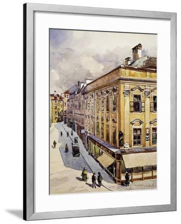 Wolfgang Amadeus Mozart's--Framed Giclee Print