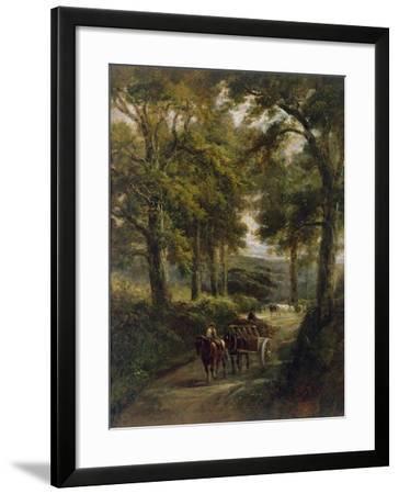 The Timber Wagon-Henry Earp-Framed Giclee Print