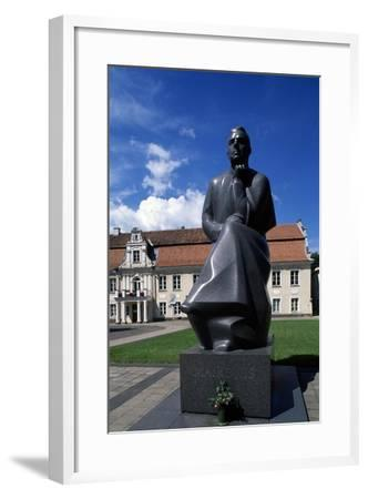 Monument to Maironis--Framed Giclee Print