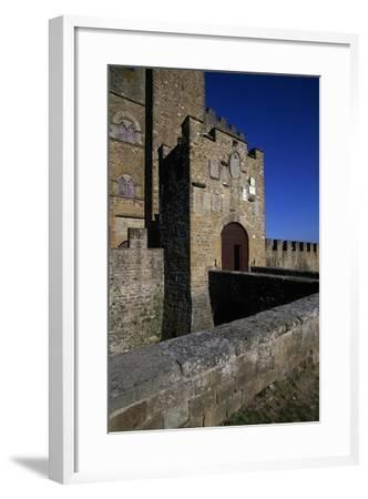 View of Castle of Counts Guidi--Framed Giclee Print