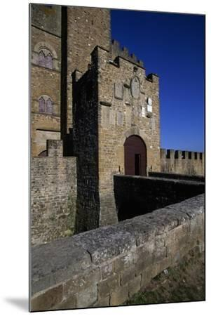 View of Castle of Counts Guidi--Mounted Giclee Print