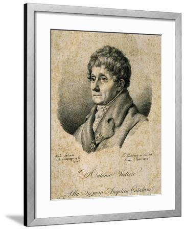 Portrait of Antonio Salieri--Framed Giclee Print
