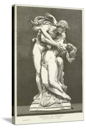 Cephalus and Procris--Stretched Canvas Print