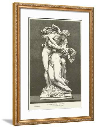 Cephalus and Procris--Framed Giclee Print