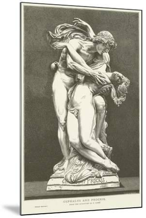 Cephalus and Procris--Mounted Giclee Print