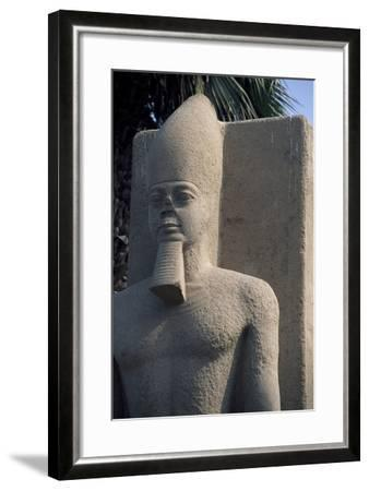 Colossal Statue, Memphis--Framed Photographic Print