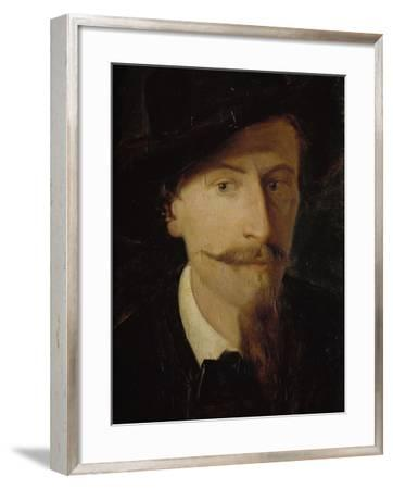 Self-Portrait-Giorgio Scherer-Framed Giclee Print