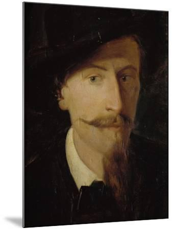 Self-Portrait-Giorgio Scherer-Mounted Giclee Print