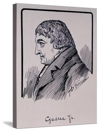 Portrait of Francois-Joseph Gossec--Stretched Canvas Print