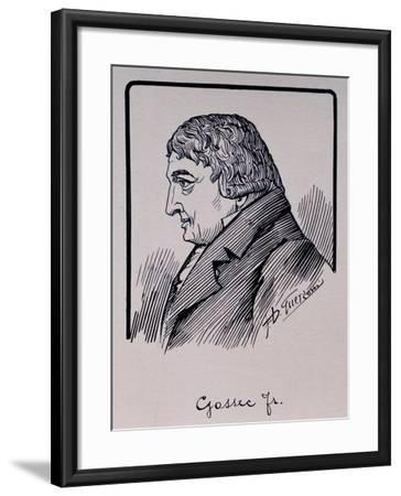 Portrait of Francois-Joseph Gossec--Framed Giclee Print