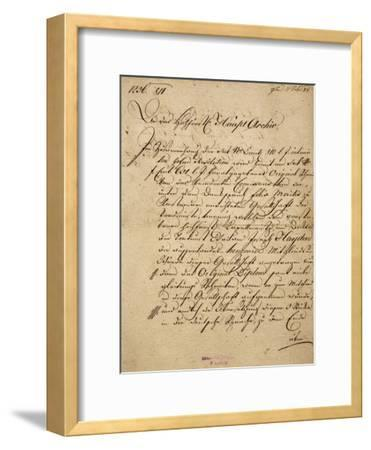 Franz Joseph Haydn's--Framed Giclee Print