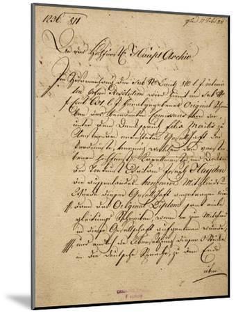 Franz Joseph Haydn's--Mounted Giclee Print