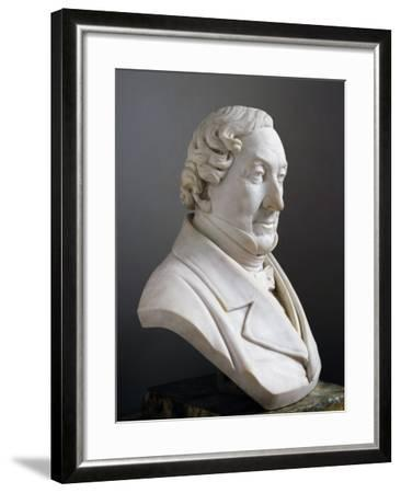 Marble Bust of Gioachino Rossini--Framed Giclee Print