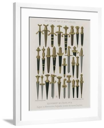 Military Equipment--Framed Giclee Print