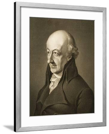 Portrait of Christoph Martin Wieland--Framed Giclee Print