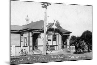 Waipu Post Office, 1910--Mounted Photographic Print