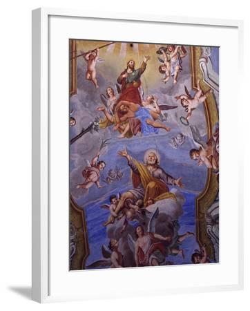 Vault Frescoes-Giuseppe Mattia Borgnis-Framed Giclee Print