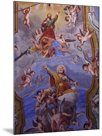Vault Frescoes-Giuseppe Mattia Borgnis-Mounted Giclee Print