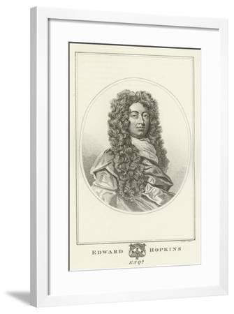Edward Hopkins, Esquire-Godfrey Kneller-Framed Giclee Print