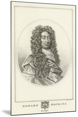 Edward Hopkins, Esquire-Godfrey Kneller-Mounted Giclee Print