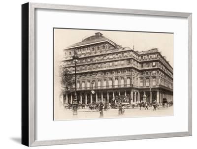 The Comédie-Française, Paris, 1890--Framed Photographic Print
