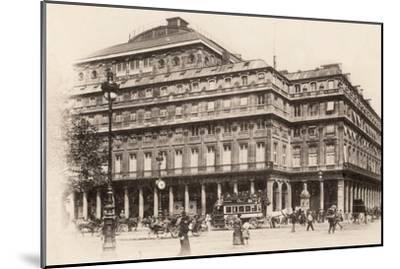 The Comédie-Française, Paris, 1890--Mounted Photographic Print