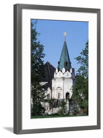 Ancient Russian Style Tower, Citadel of Theodore--Framed Giclee Print