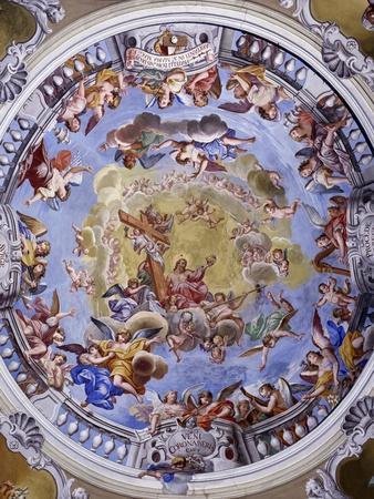Fresco-Giuseppe Mattia Borgnis-Framed Giclee Print