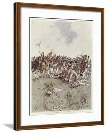 A Battle of the French Revolutionary War-Felicien Baron De Myrbach-rheinfeld-Framed Giclee Print
