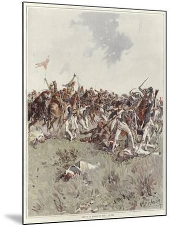 A Battle of the French Revolutionary War-Felicien Baron De Myrbach-rheinfeld-Mounted Giclee Print