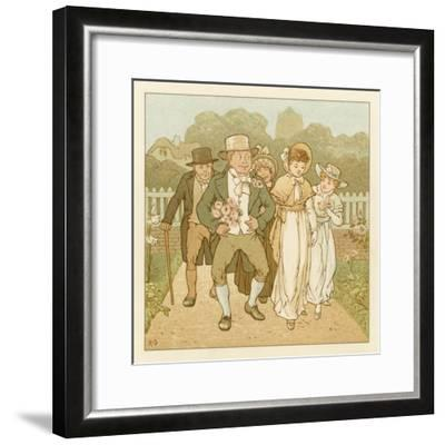 Depiction of the Month of June-Robert Dudley-Framed Giclee Print