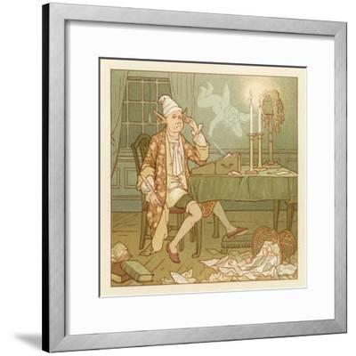 Depiction of the Month of February-Robert Dudley-Framed Giclee Print