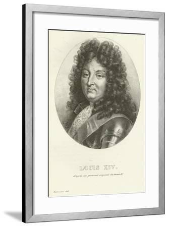 Louis XIV--Framed Giclee Print