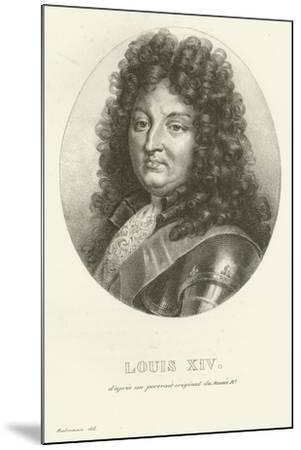 Louis XIV--Mounted Giclee Print