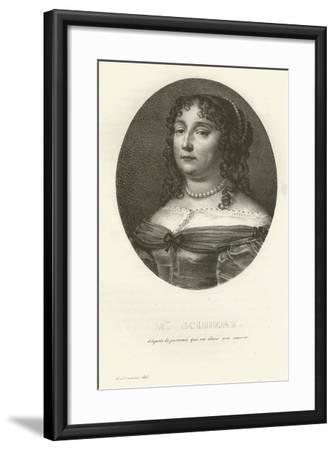 Madame Scudery--Framed Giclee Print