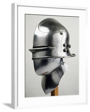 Burgonet Helmet--Framed Giclee Print
