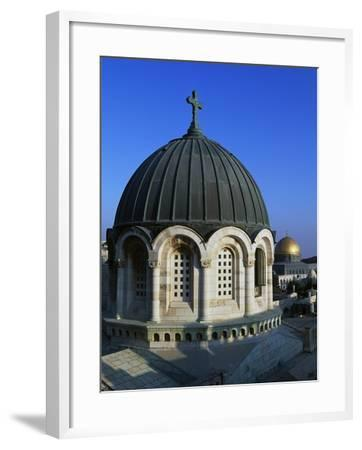 The Dome of the Sisters of Sion Convent--Framed Giclee Print