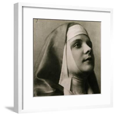 Portrait of Gilda Dalla Rizza--Framed Giclee Print