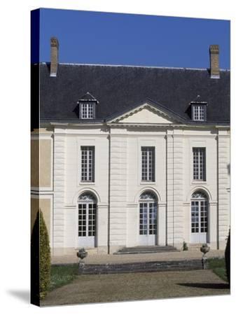 Facade of Chateau De Brou--Stretched Canvas Print