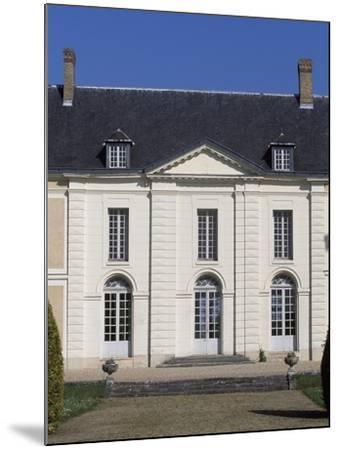Facade of Chateau De Brou--Mounted Giclee Print