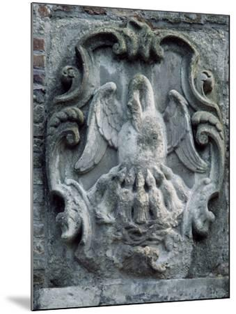Maison Du Pelican--Mounted Giclee Print